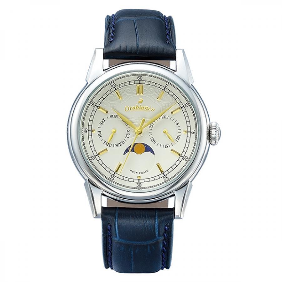 Orobianco オロビアンコ 腕時計 メンズ  BIANCONERO ビアンコネーロ  TiCTAC限定 替ベルト付  OR0074-TC1