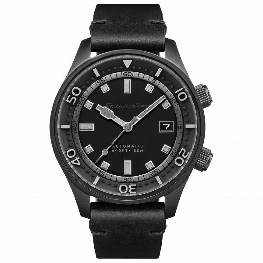 SPINNAKER スピニカー BRADNER ブラッドナー SP-5062-06 ダイバーズ 自動巻 レザー 腕時計 メンズ