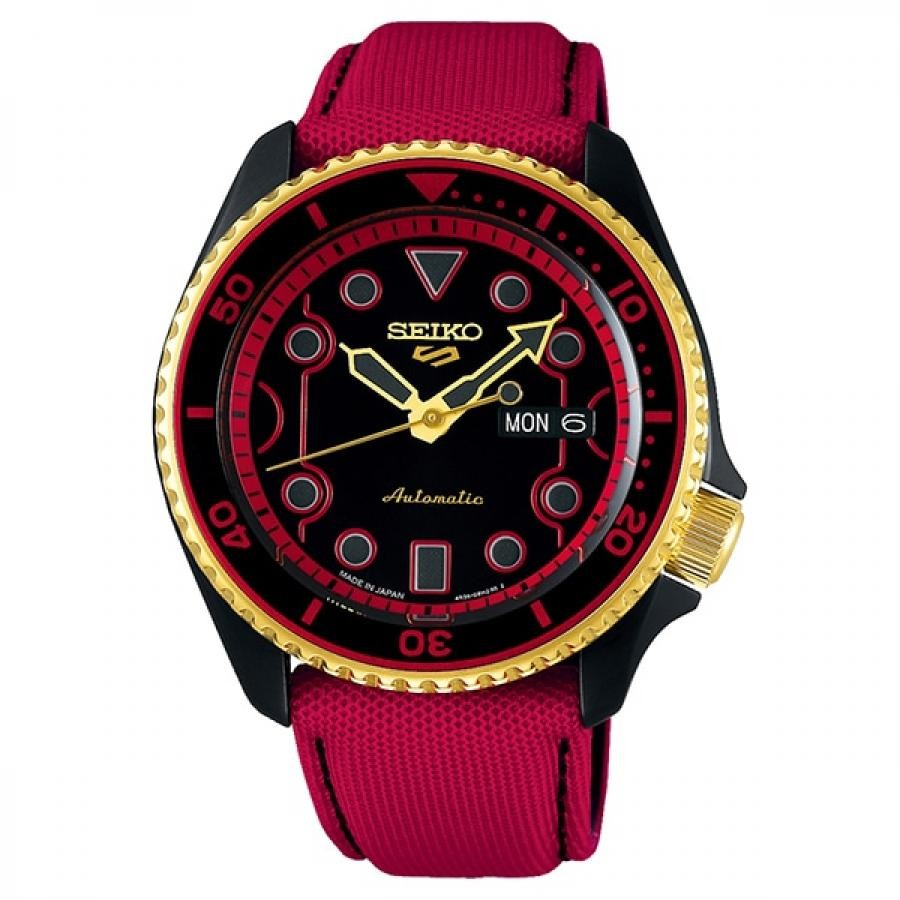 【メンバーズWポイント対象】SEIKO 5 Sports セイコーファイブスポーツ Sense Style センススタイル ストリートファイターVコラボレーション限定モデル 世界9999本限定 ケン SBSA080 腕時計 メンズ