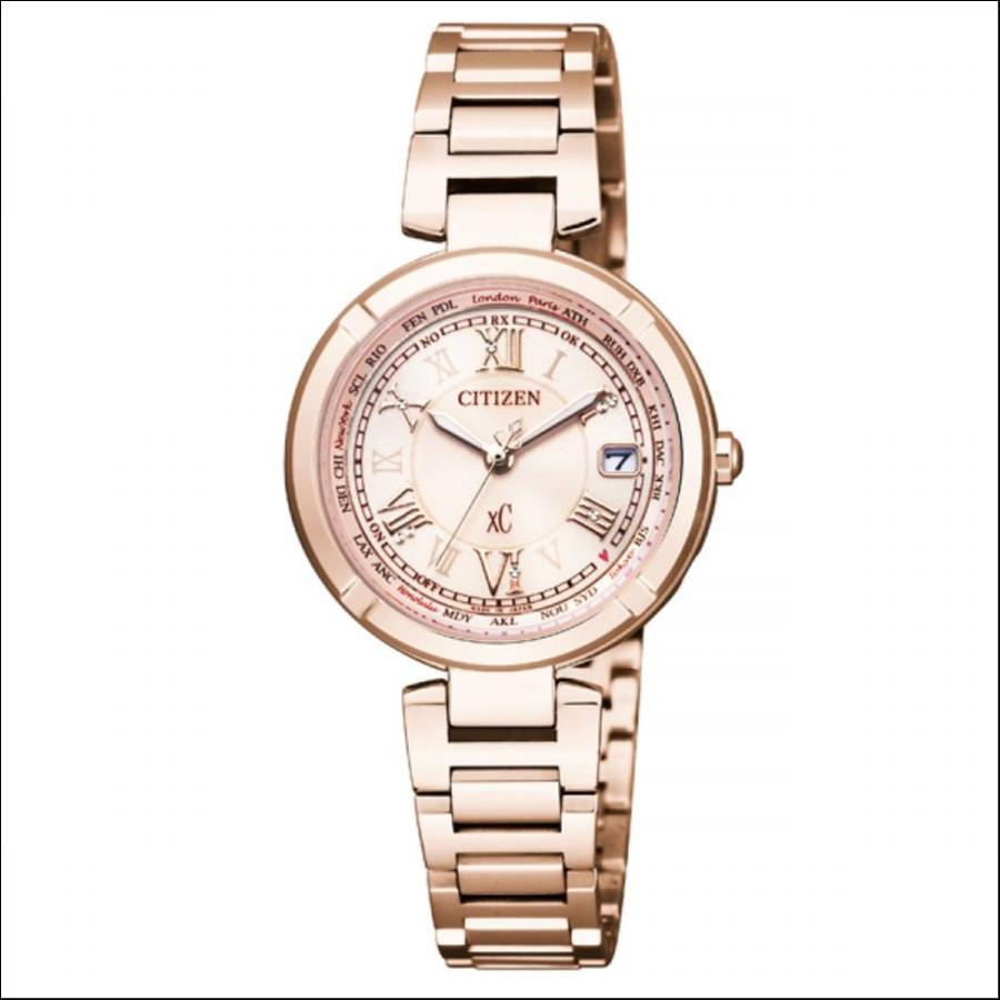 XC クロスシー CITIZEN シチズン サクラピンク 宝石箱 国内正規品 腕時計 レディース EC1115-59W