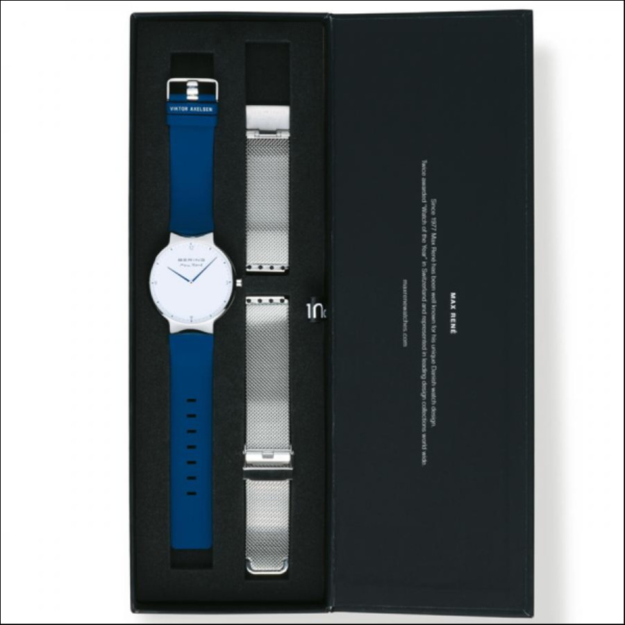 BERING ベーリング VIKTOR AXELSEN ×Max Rene Limited ビクターアクセルセン × マックスレネ 腕時計 15540-704