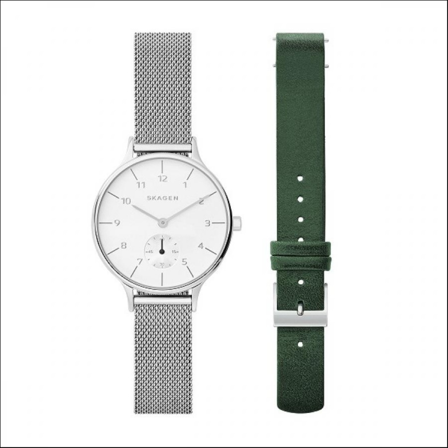 SKAGEN スカーゲン ANITA アニータ ベルトセット TiCTAC別注 【国内正規品】 腕時計 レディース SKW1099