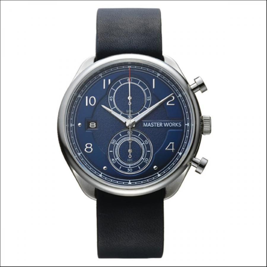 MASTER WORKS マスターワークス Quattro 002 クアトロ クロノグラフ 腕時計 メンズ MW07SN-EDNVG8
