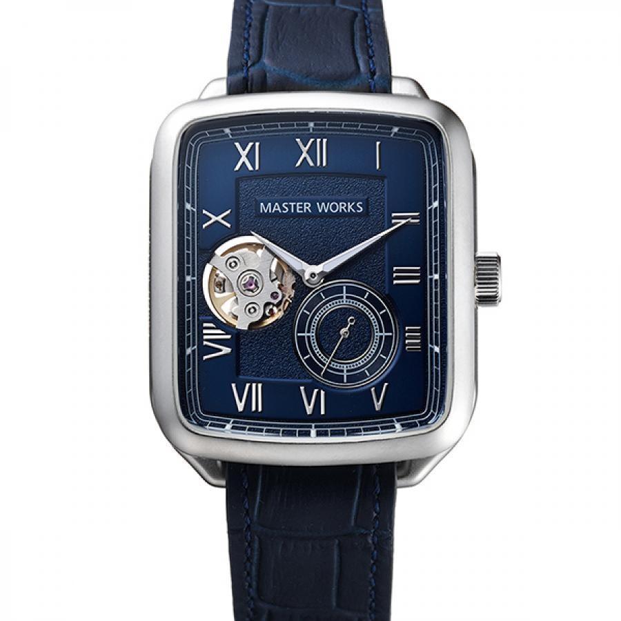 MASTERWORKS マスターワークス 腕時計  アニバーサリーモデル  クアドラングル001 MW09SN-GCBLG8
