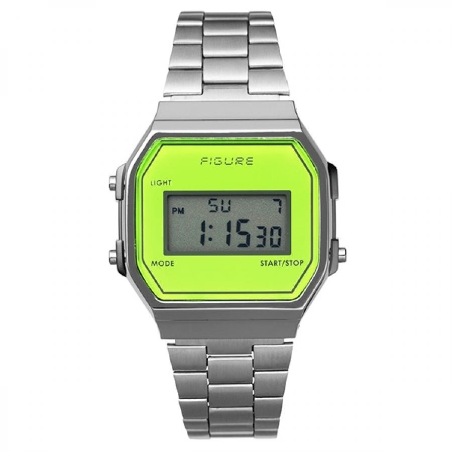 Movement in Motion ムーブメント・イン・モーション FIGURE フィギュア Color Digital カラーデジタル MIM-FD-GR グリーン TiCTACオリジナル 腕時計 メンズ レディース