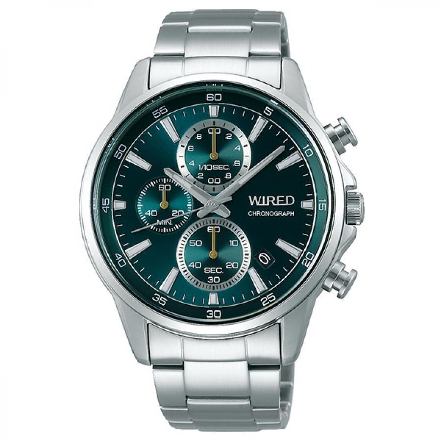WIRED ワイアード SEIKO セイコ クロノグラフ TiCTAC別注 腕時計 メンズ AGAT731