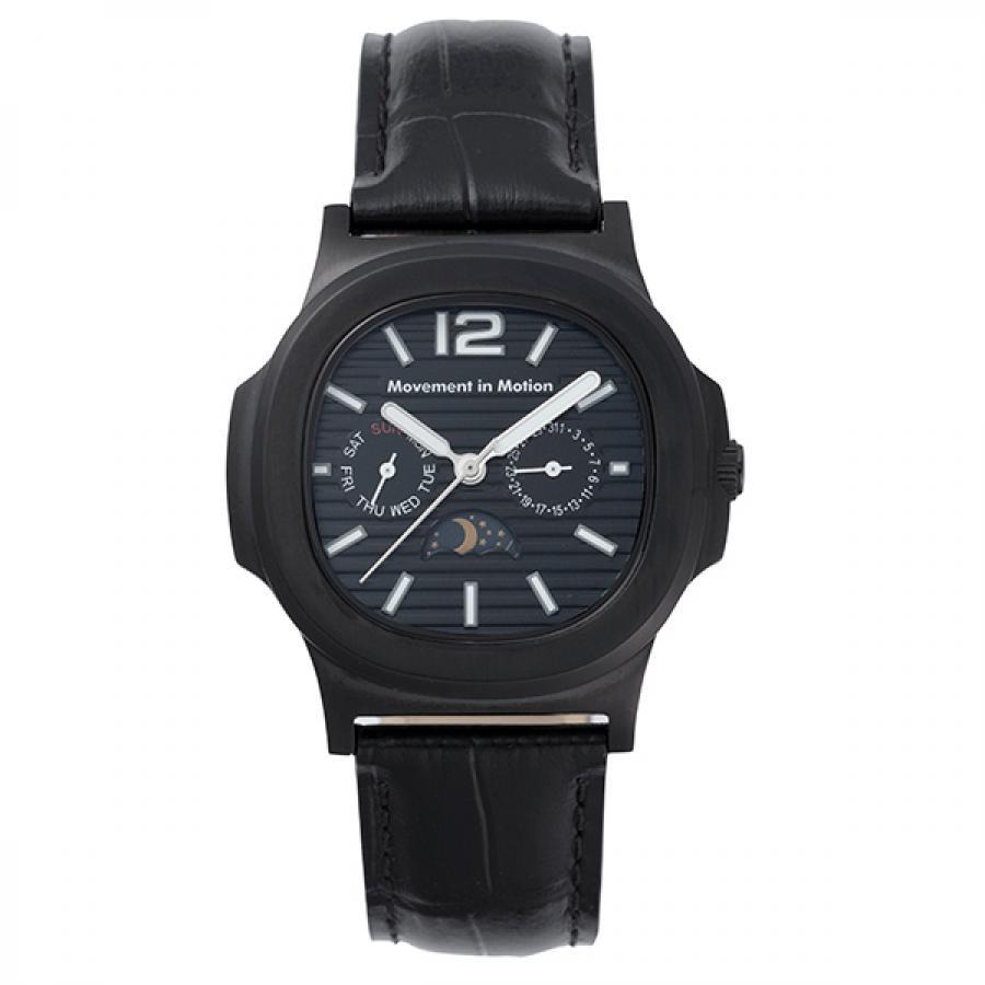 ムーブメント イン モーション クッションケース クラシックデザイン TiCTACオリジナル 腕時計 メンズ MIM-MF03-BK/BK