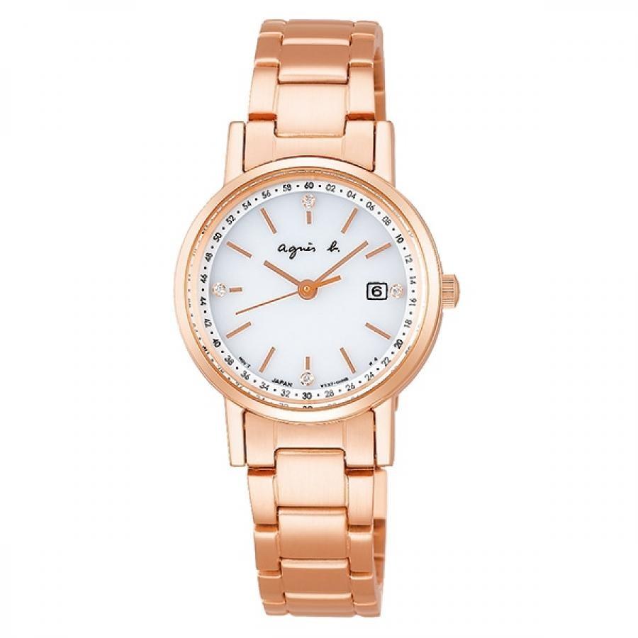 agnes b. アニエスベー SEIKO セイコー FBSD718 ファム 2020年クリスマス限定 1200本 ソーラー 腕時計 レディース