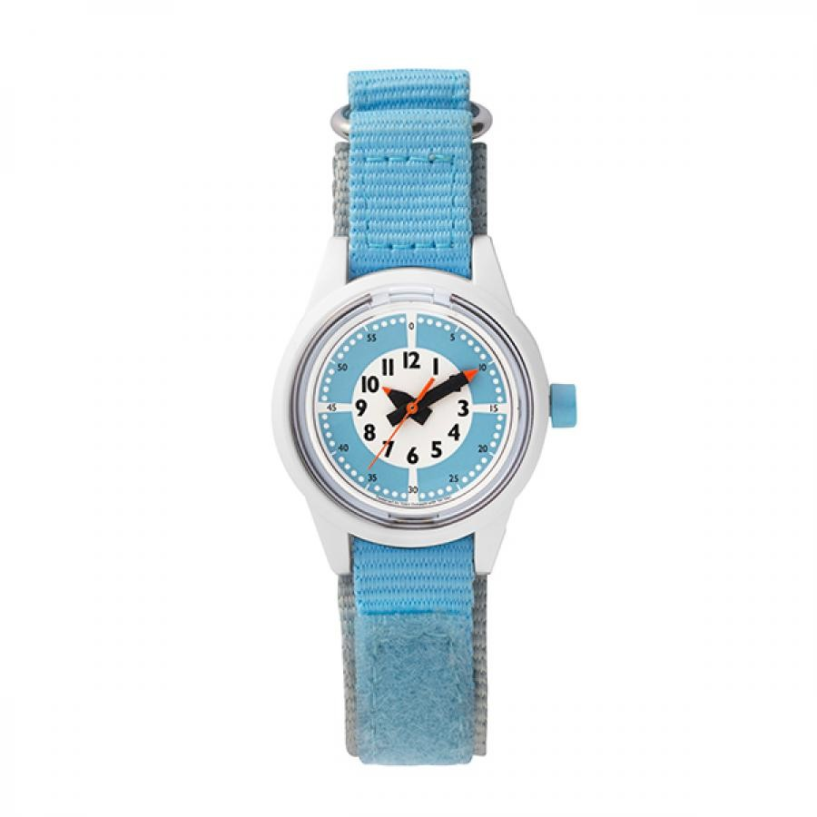 fun pun clock to wear! フンプンクロック Designed by Yoko Dobashi with TiCTAC  Q&Q Smile solar  チックタックオリジナル  ソーラー キッズ  RP29J813