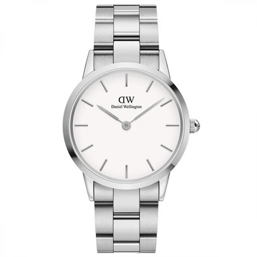 Daniel Wellington ダニエル・ウェリントン ICONIC LINK 36mm Silver White 腕時計 DW00100203