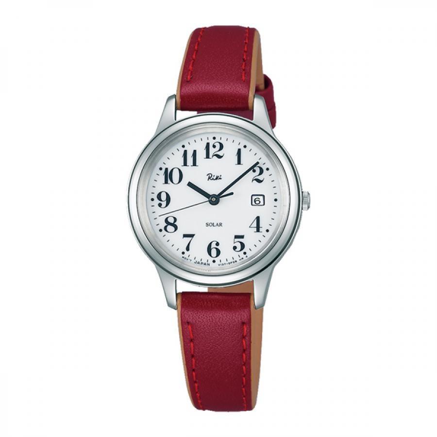 RIKI WATANABE リキ ワタナベ レッド 【国内正規品】 腕時計 レディース AKQD025