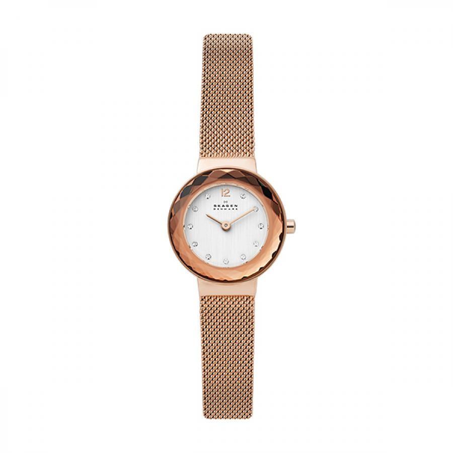 SKAGEN スカーゲン 腕時計 LEONORA レオノラ ローズゴールド スチールメッシュ レディス  SKW2799