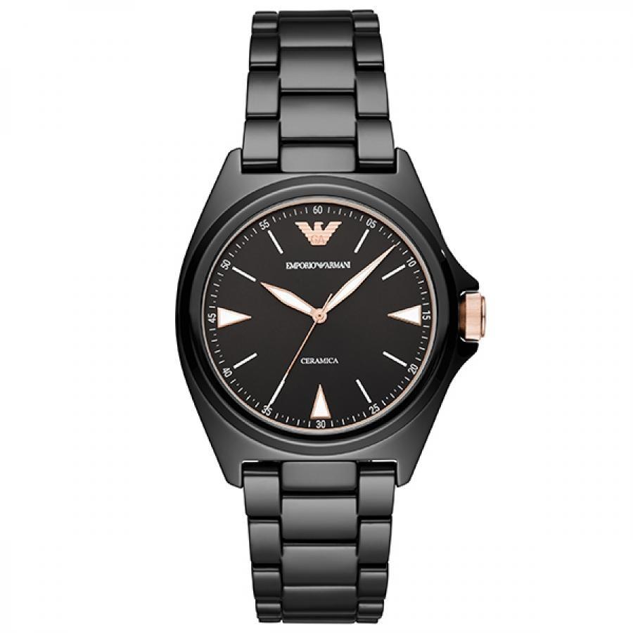 EMPORIO ARMANI エンポリオ アルマーニ  NICOLA 二コラ セラミック 腕時計 メンズ AR70003