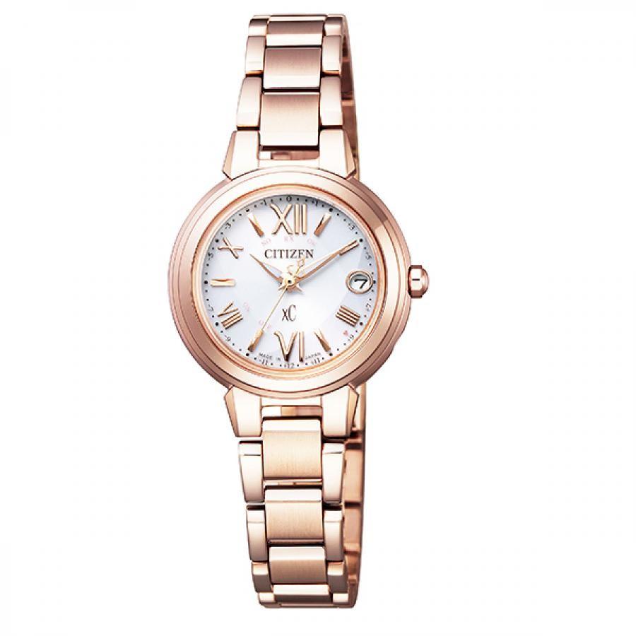 xC クロスシー CITIZEN シチズン ハッピーフライト エコ・ドライブ電波 腕時計 ES9435-51A