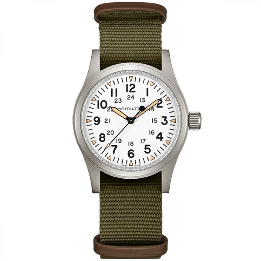 HAMILTON ハミルトン  Khaki Field Mechanical カーキ フィールド メカニカル 手巻 腕時計 メンズ H69439411