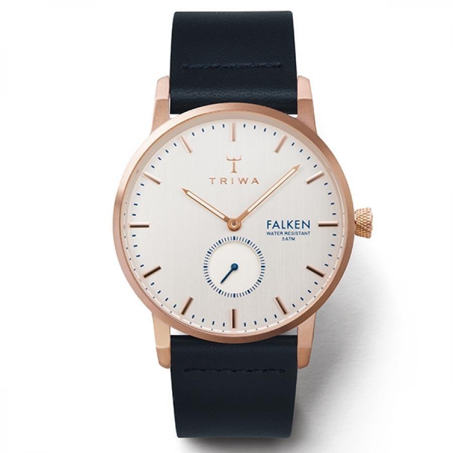 TRIWA トリワ 腕時計 メンズ FALKENファルケン TiCTAC限定 BLACK CLASSIC  FAST122-CL1107