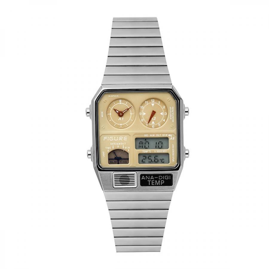 ムーヴメントインモーション Movement In Motion  FIGUREデジアナテンプ   腕時計  チックタックオリジナル  MIM-AD-BGE