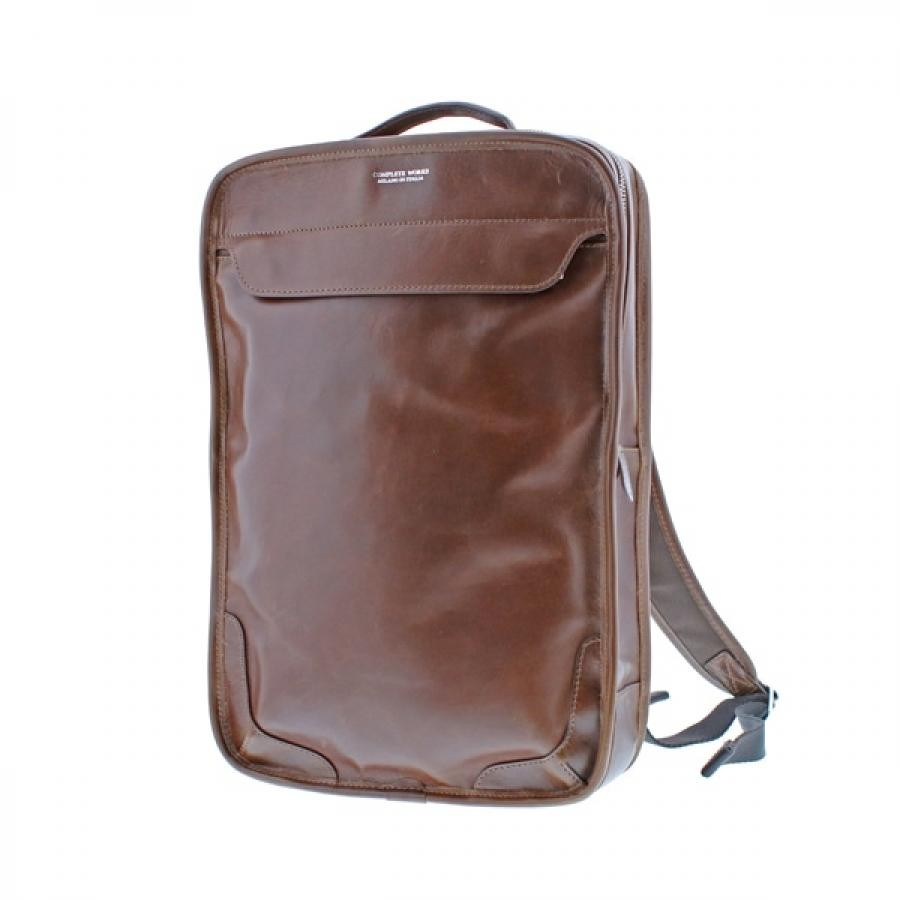 COMPLETE WORKS X BONFANTI コレクターズ別注 A4 2WAY RUCK リュック オールレザー BROWN 497404
