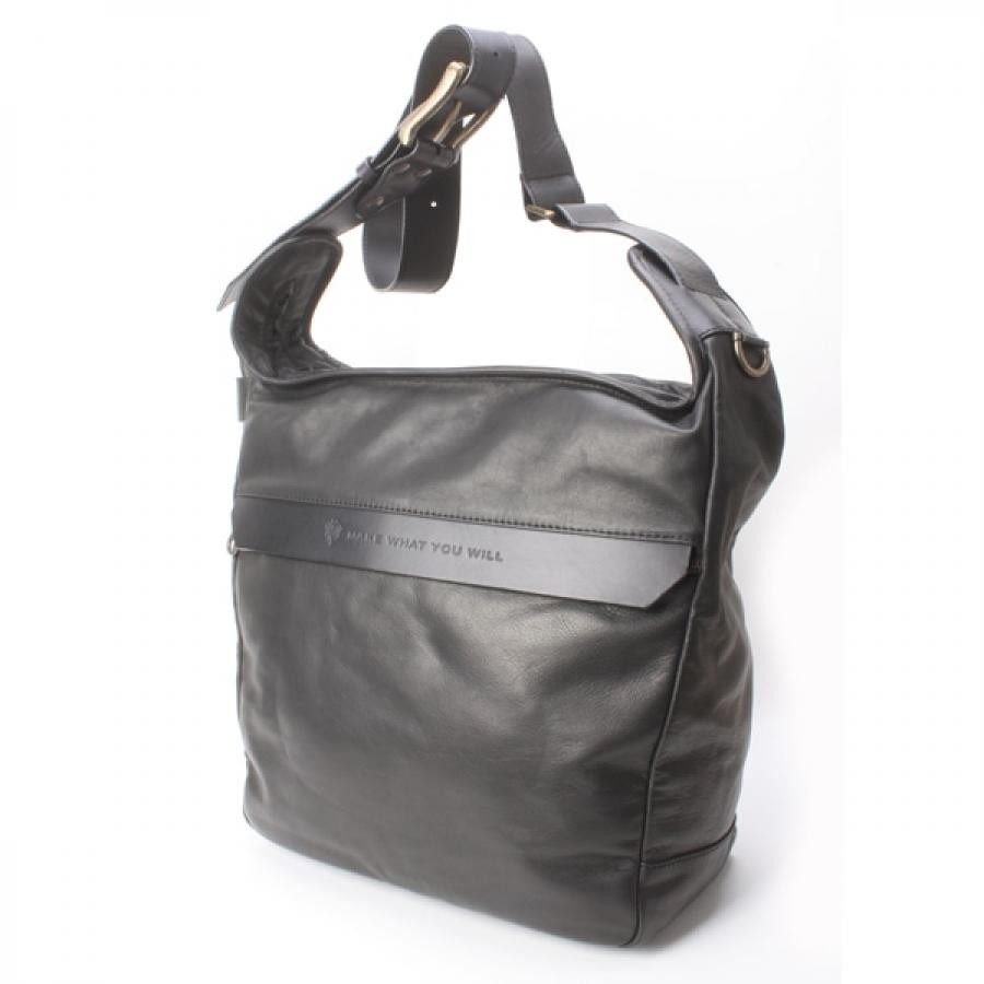 【SALE】Make what you will メイクワットユーウィル ショルダーL Black MWC-4 BK