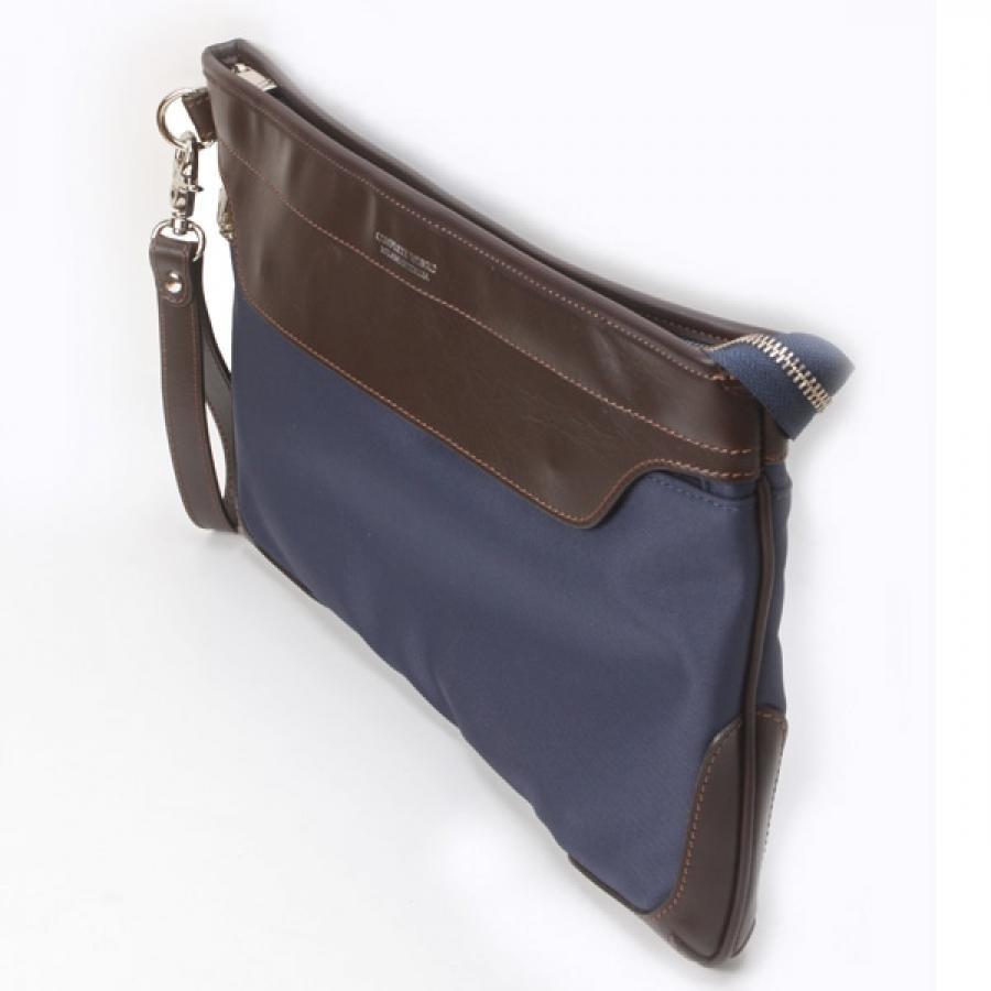 【SALE】COMPLETE WORKS X BONFANTI Clutch Bag Navy 468902