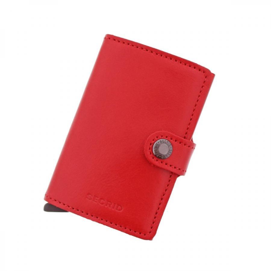 SECRID シークリッド セクリッド ORIGINAL Miniwallet ミニウォレット MO-Red-Red