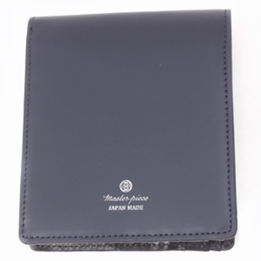 【SALE】master-piece マスターピース コレクターズ別注 noble 二つ折財布 Navy ネイビー 525082-CO