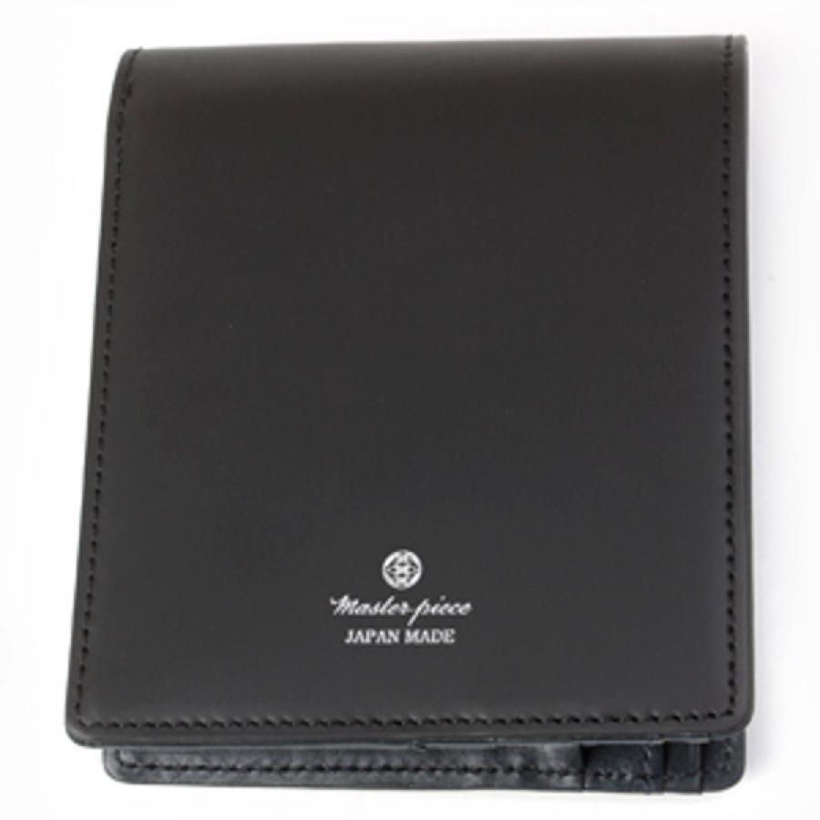 【SALE】master-piece マスターピース コレクターズ別注 noble 二つ折財布 Black ブラック 525082-CO
