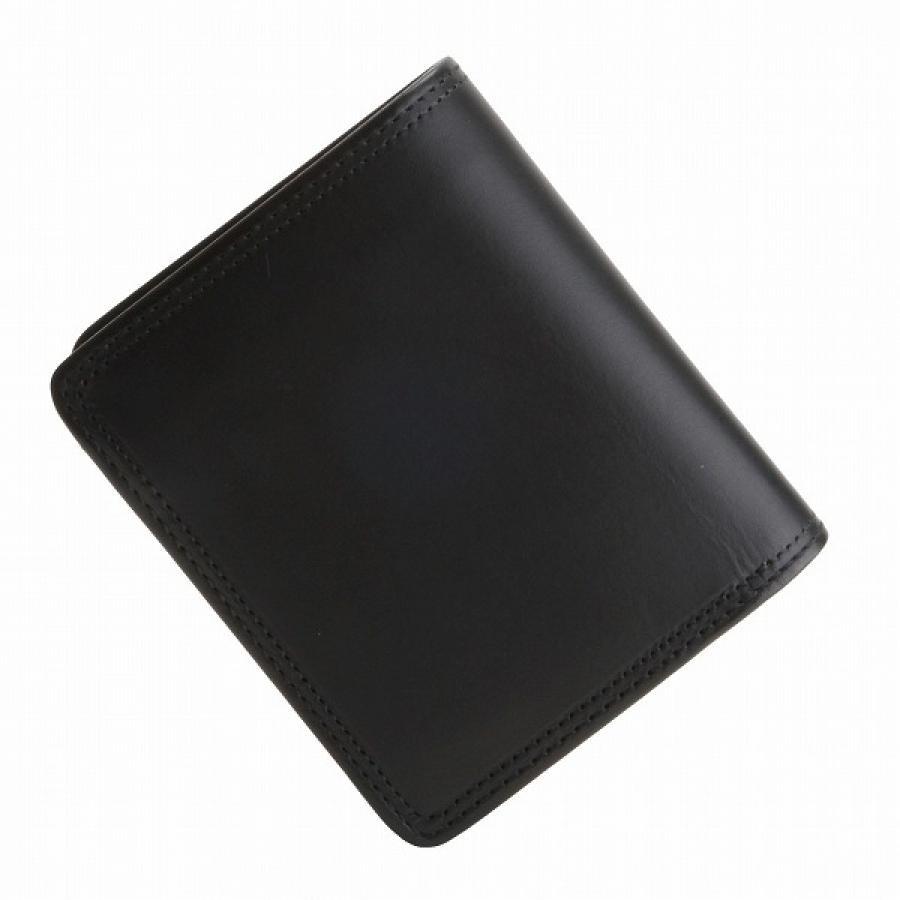 CORBO コルボ SLATE パスケース付 2つ折財布 Black 8LC-9362