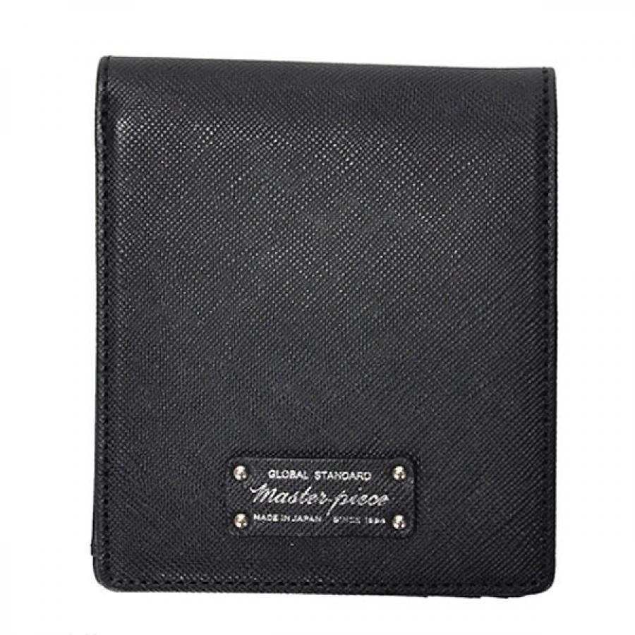 master-piece マスターピース noble 二つ折 財布 Black 525082