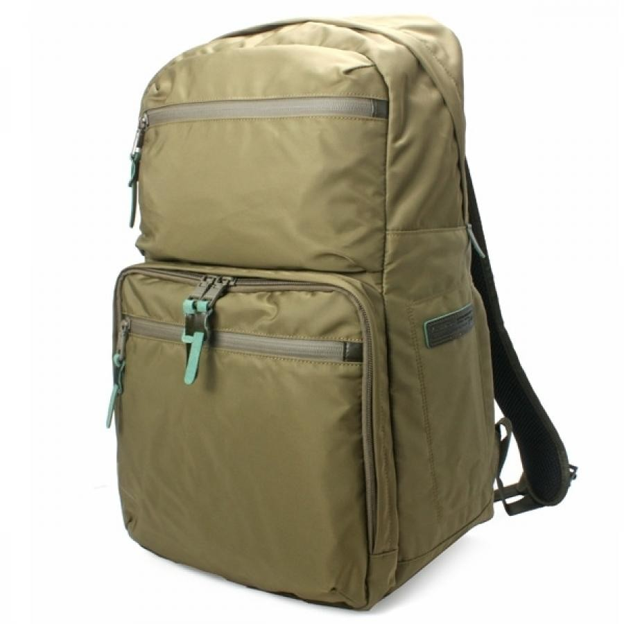【SALE】AS2OV アッソブ 210D NYLON TWILL SQUARE BACK PACK バックパック Khaki 121600