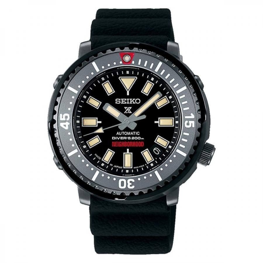 PROSPEX プロスペックス SEIKO セイコー DiverScuba ダイバースキューバ NEIGHBORHOOD Limited Edition ネイバーフッド コラボモデル SBDY077 ダイバーズウォッチ 自動巻 数量1000本限定 腕時計 メンズ
