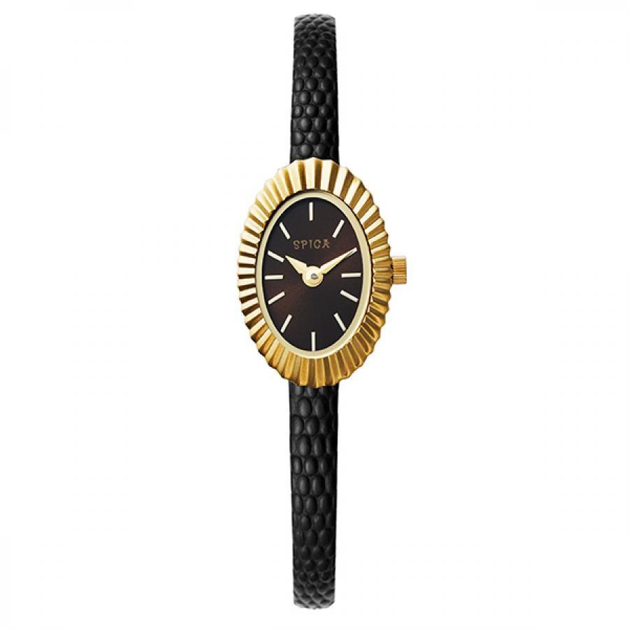 TiCTACオリジナル SPICA スピカ 腕時計 レディス  シェルリング SPI54-BR/BK