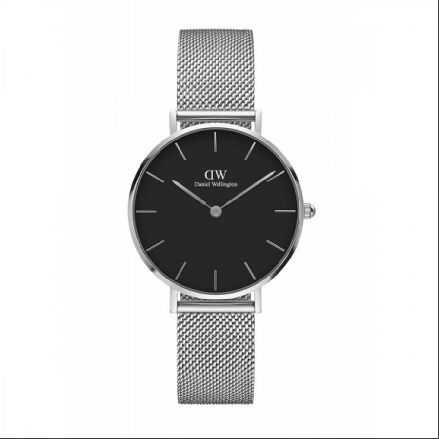 Daniel Wellington ダニエルウェリントン CLASSIC PETITE STERLING BLACK 【国内正規品】 腕時計 DW00100162