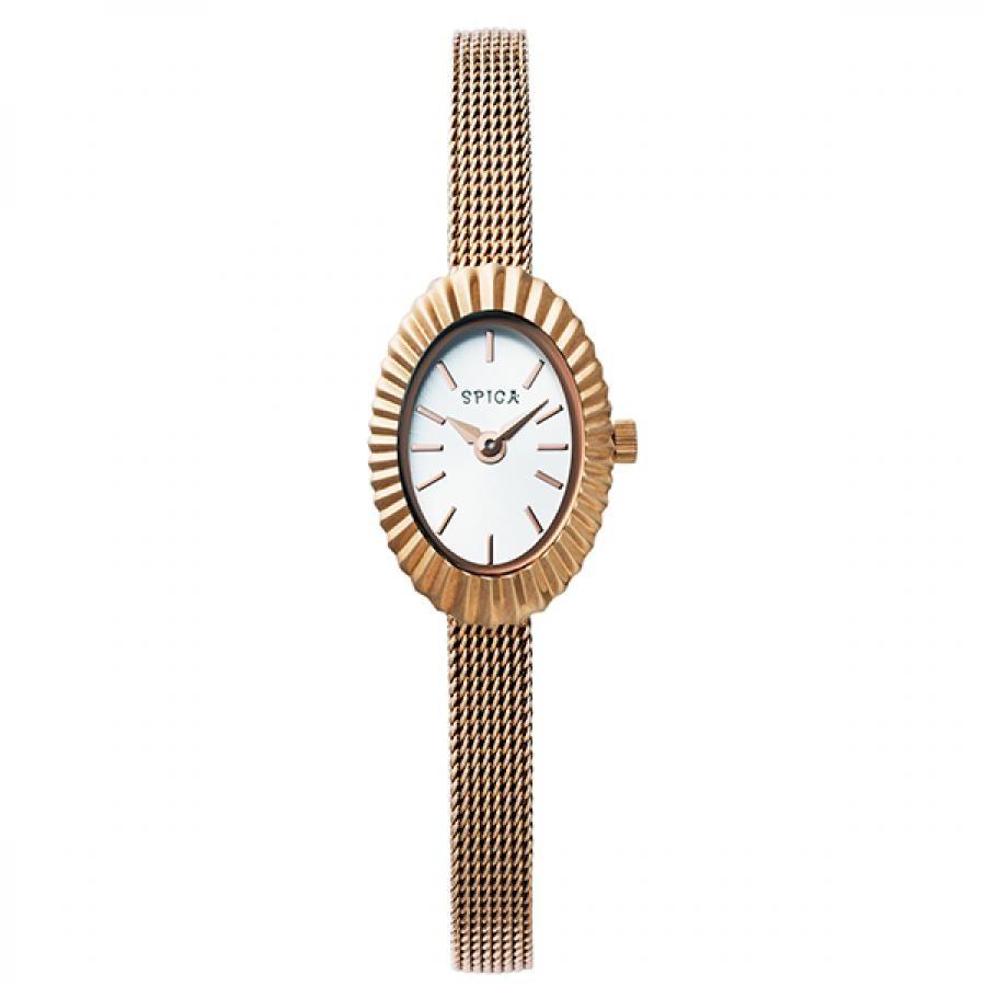 TiCTACオリジナル SPICA スピカ 腕時計 レディス  シェルリング SPI54-RG/M