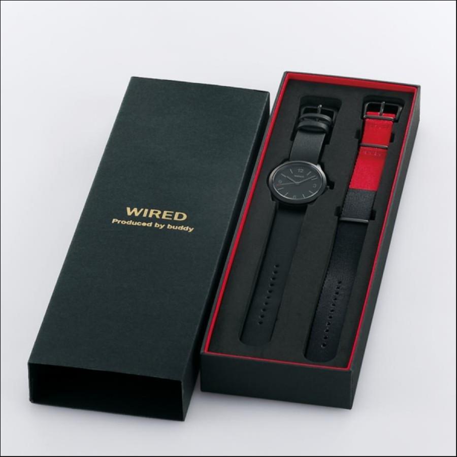WIRED ワイアード SEIKO セイコー buddyコラボ 500本限定 腕時計 AGAK704