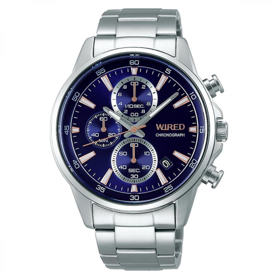 WIRED ワイアード SEIKO セイコ クロノグラフ TiCTAC別注 腕時計 メンズ AGAT732