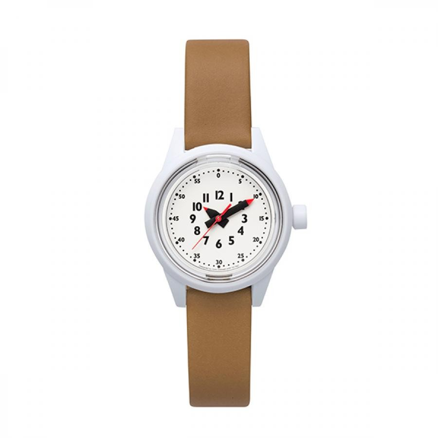 fun pun clock to wear! フンプンクロック Designed by Yoko Dobashi with TiCTAC  Q&Q Smile solar  チックタックオリジナル  ソーラー アダルト RP29J811