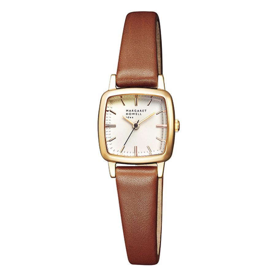 MARGARET HOWELL idea マーガレット・ハウエル アイデア Regular Square Strap 腕時計 レディース BG2-728-10