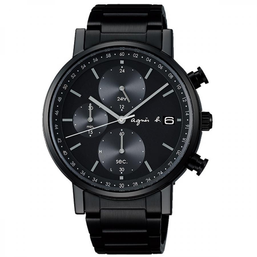 agnes b. アニエスベー SEIKO セイコー FBRD715 オム 2020年クリスマス限定 1200本 ソーラー 腕時計 メンズ