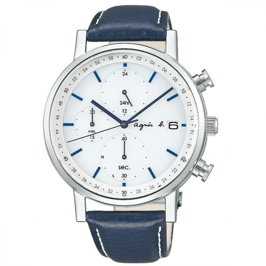 agnes b. アニエスベー SEIKO セイコー FBRD937 オム ソーラー 腕時計 メンズ