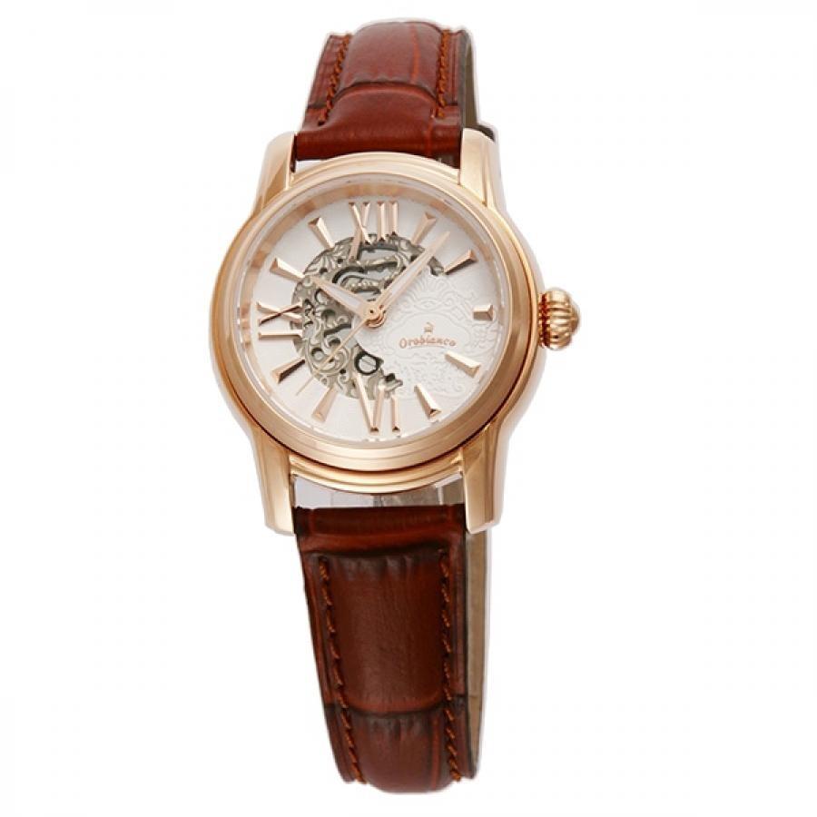 Orobianco オロビアンコ AURELIA アウレリア OR0059-9 ブラウン 自動巻 腕時計 レディース