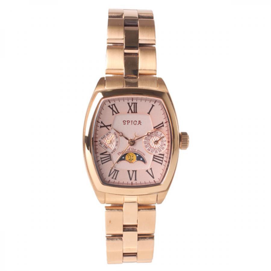 【5000円SALE】SPICA スピカ MOON PHASE ムーンフェイズ 腕時計 レディース SPI38-PGM