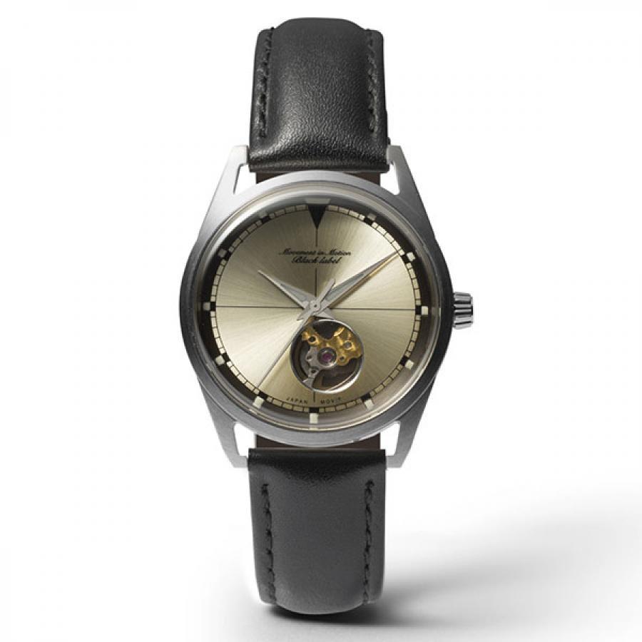 Movement in Motion ムーブメント・イン・モーション Black Label ブラックレーベル CLASSIC SPORTS クラシックスポーツ TiCTACオリジナル MIM-BL1-SV 機械式 腕時計 メンズ