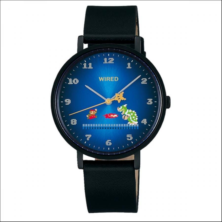 WIRED ワイアード SEIKO セイコ スーパーマリオブラザーズ 1,200本限定モデル 腕時計 AGAK706