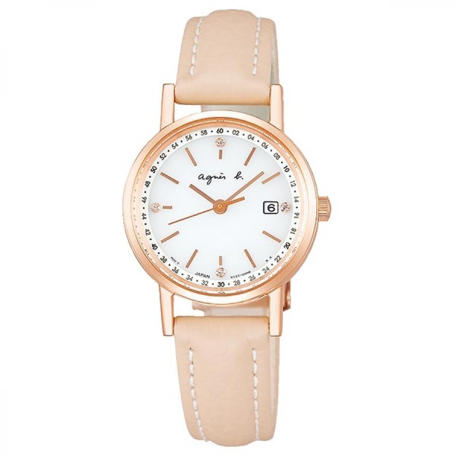 agnes b. アニエスベー SEIKO セイコー FBSD937 ファム ソーラー 腕時計 レディース