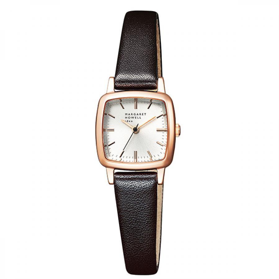 MARGARET HOWELL idea マーガレット・ハウエル アイデア Regular Square Strap 腕時計 レディース BG2-728-12