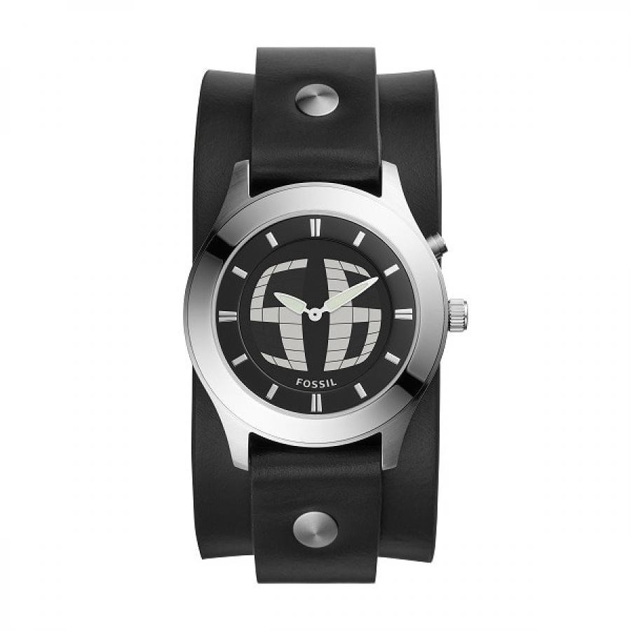 FOSSIL フォッシル BIG TIC ビッグチック 復刻モデル 日本限定 数量限定 FS5739 レザー 40mm 腕時計 メンズ