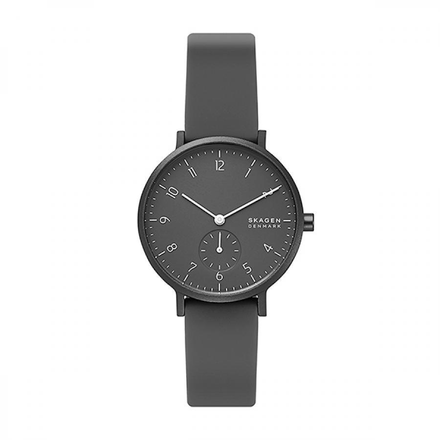 SKAGEN スカーゲン 腕時計 Aaren Kulor アーレン36mm ブラックシリコン レディス  SKW2801