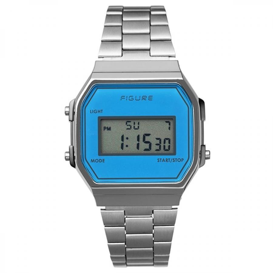 Movement in Motion ムーブメント・イン・モーション FIGURE フィギュア Color Digital カラーデジタル MIM-FD-BL ブルー TiCTACオリジナル 腕時計 メンズ レディース