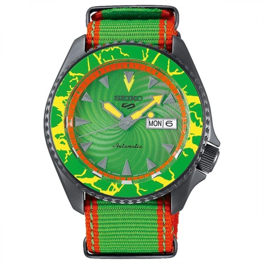 【メンバーズWポイント対象】SEIKO 5 Sports セイコーファイブスポーツ Sense Style センススタイル ストリートファイターVコラボレーション限定モデル 世界9999本限定 ブランカ SBSA083 腕時計 メンズ